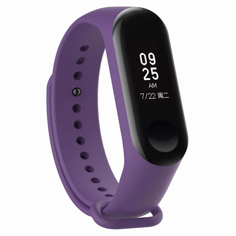 strap For Xiaomi Mi Band 3 Silicone watch  Bracelet wristband replacement Miband 3 Colorful Smart fitness watchBand