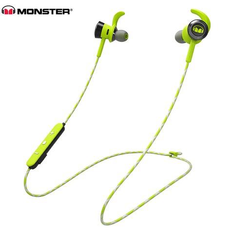 Fones de Ouvido Bluetooth sem Fio Ouvido com Mic Reflexivo à Prova Monstro Original Vitória Isport Esportes no Correndo Ipx4 Fio d' Água