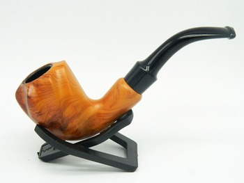 Wooden Resin Enchase Conch Smoking Pipe