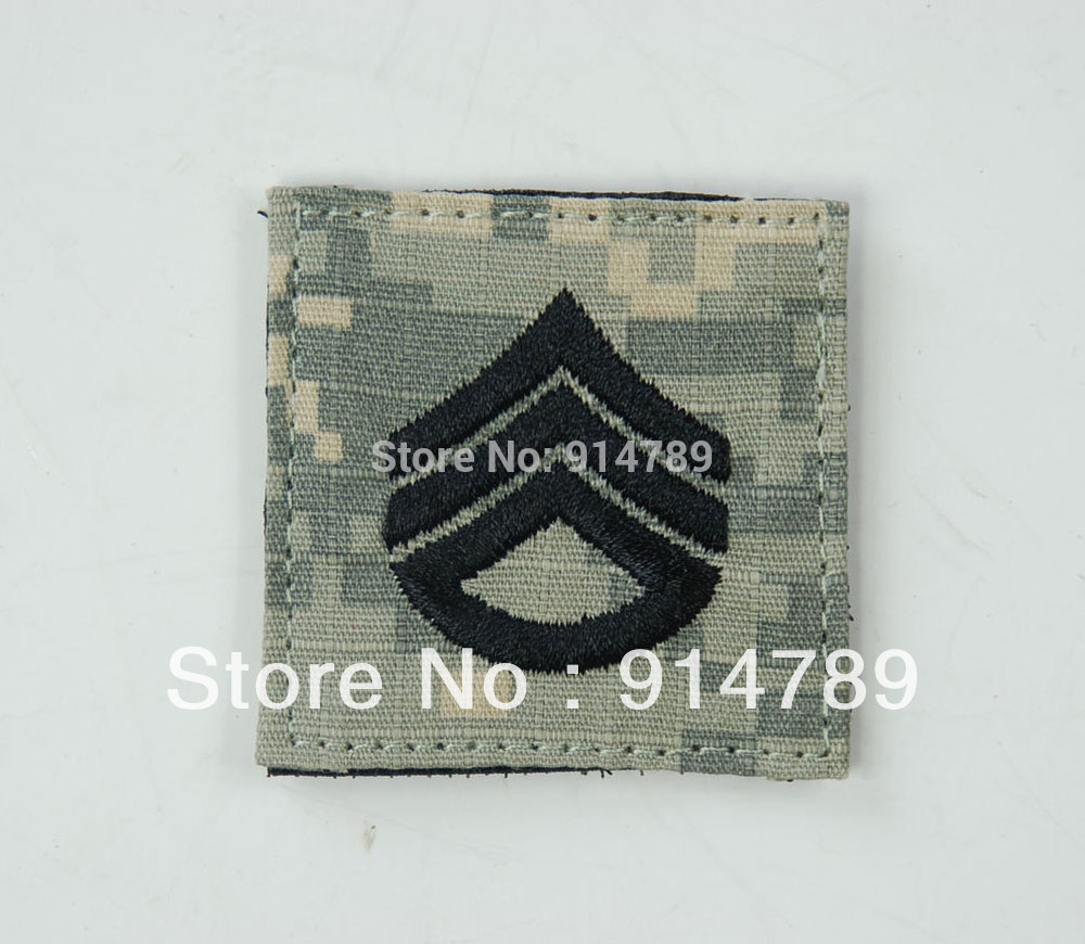 US ARMY STAFF SERGEANT ACU PATCH -32841