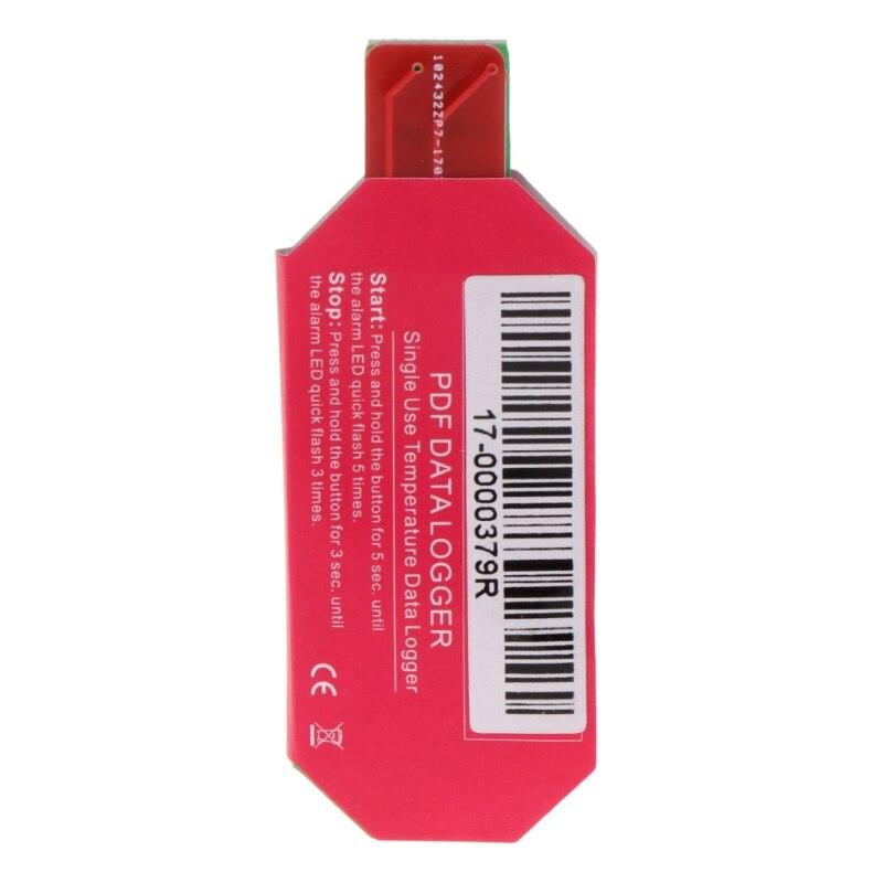5PCS Waterproof PDF One Time USB 2.0 Temperature Data Logger Biological Medicine