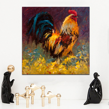 цена SELFLESSLY Roosters Oil Painting Wall Art For Living Room,Bedroom Posters and Prints Modern Abstract Art Decorative Pictures онлайн в 2017 году