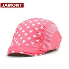JAMONT  algodón de impresión de los niños viseras sombrero boina niño niña  niños sombrero da397e816e9