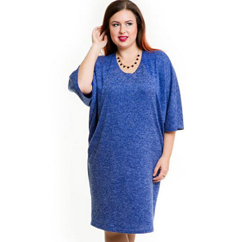 Detail Feedback Questions about Elegant Casual blue office dress ... 5be225cc7acb