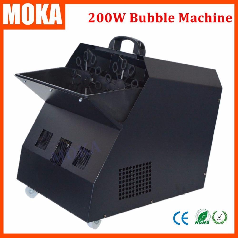 DJ Bubble Machine Soap Machine Double Bubble Machine Soap Making Machine For Wedding Party Stage Effect