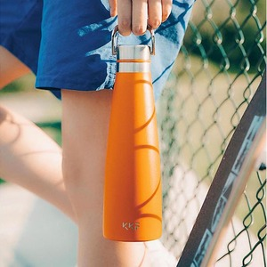 Image 3 - Youpin KKF Vacuum Bottle 24h Insulation Cup Thermoses Stainless Steel Thermos Flask 475ML Travel Mug Portable Sports Cold Cup