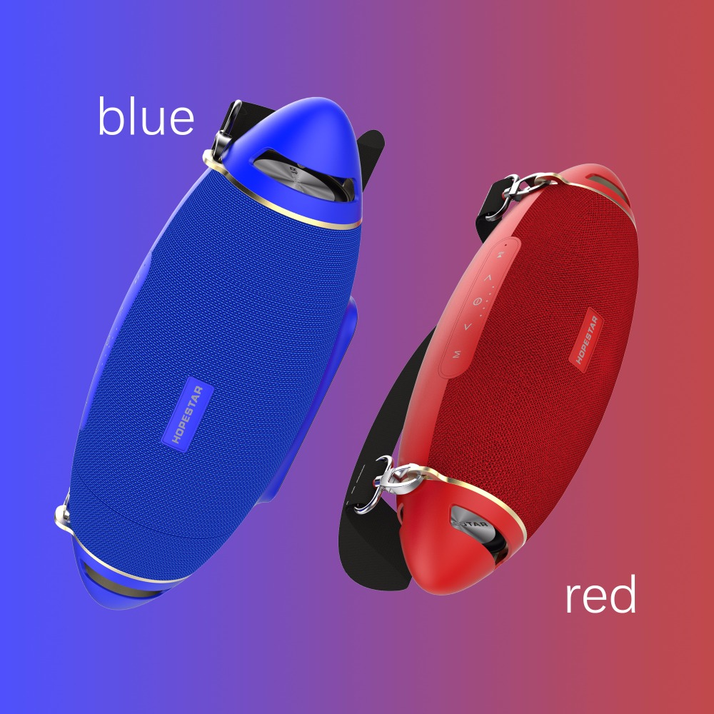 H20+ rugby waterproof subwoofer outdoor speaker with belt 7