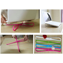 Горячая Распродажа, портативный пластиковый простой ноутбук, охлаждающий кулер, подставка, держатель, инструмент, 1 шт
