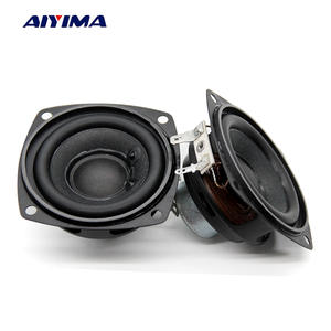 Aiyima 2 PC 2.5 Inch Audio Speakers 4Ohm 10 W 66 MM Full Range Speaker Bass Multimedia