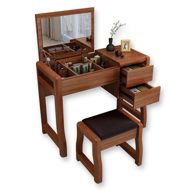 Vanity Mesa Cabinet Dresuar Comoda Para Dormitorio Dresser Vintage Shabby Chic Wooden Quarto Table Bedroom Furniture Penteadeira