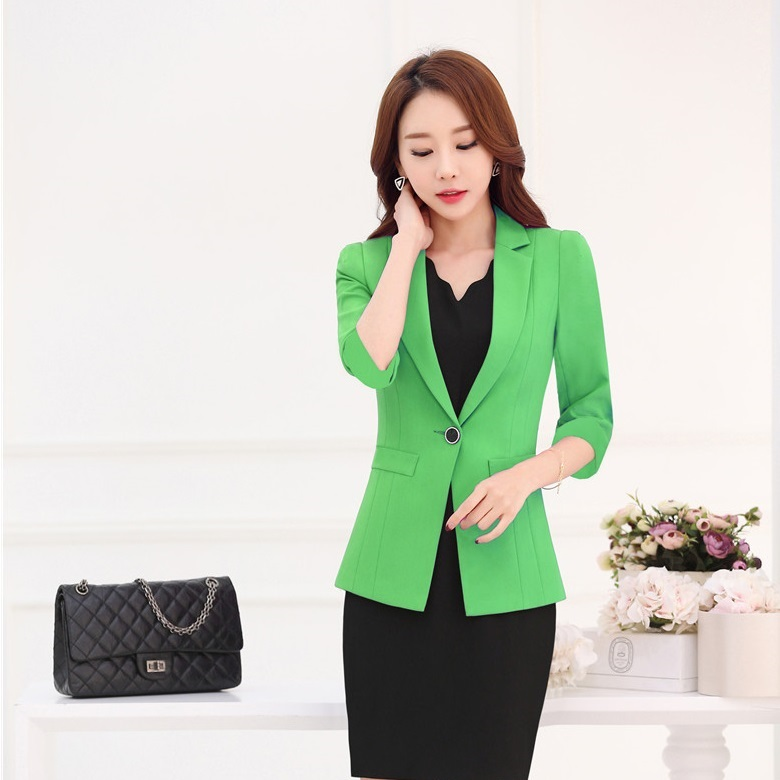 Ladies Green Blazer Promotion-Shop for Promotional Ladies Green ...