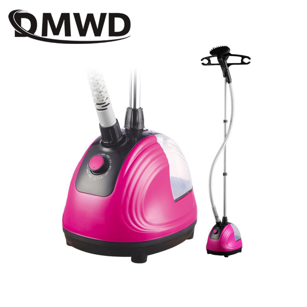 DMWD Electric Garment Steamer 1800W Hanging Vertical Steam Iron Brush 11 Gears Adjustable Handheld Clothes Ironing Machine 1.5L 10 gear adjustable garment steamer 2000w hanging vertical steam iron brush home handheld garment steamer machine clothes ga298