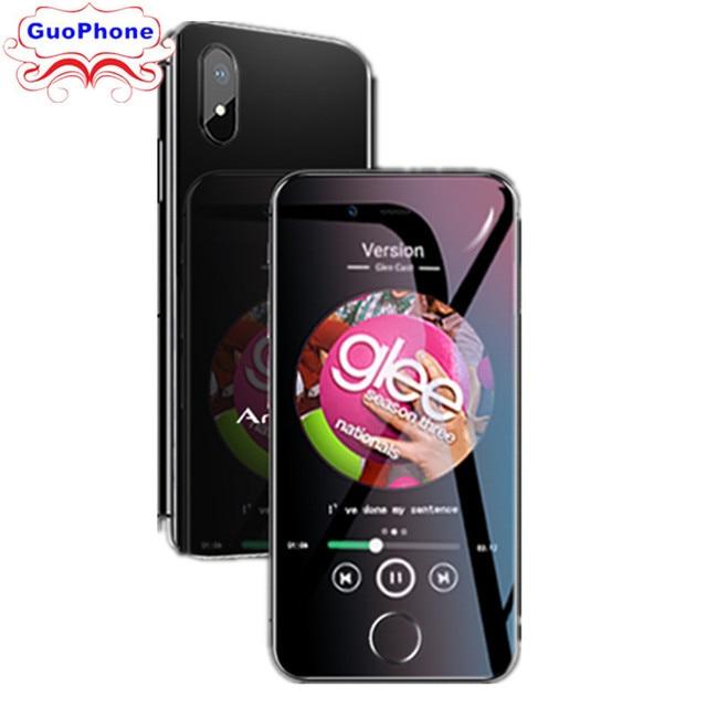 "Anica I8 Smartphone 2.54 ""MTK6580M Quad Core 3G GPS WIF 16 2 GB de RAM GB ROM Android 6.0 super Mini Cartão Ultrafino Luxo Celular"