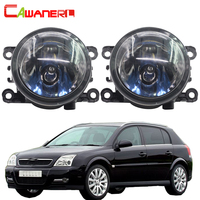 Cawanerl 1 Pair 100W H11 Car Light Halogen Lamp Fog Light DRL Daytime Running Lamp 12V