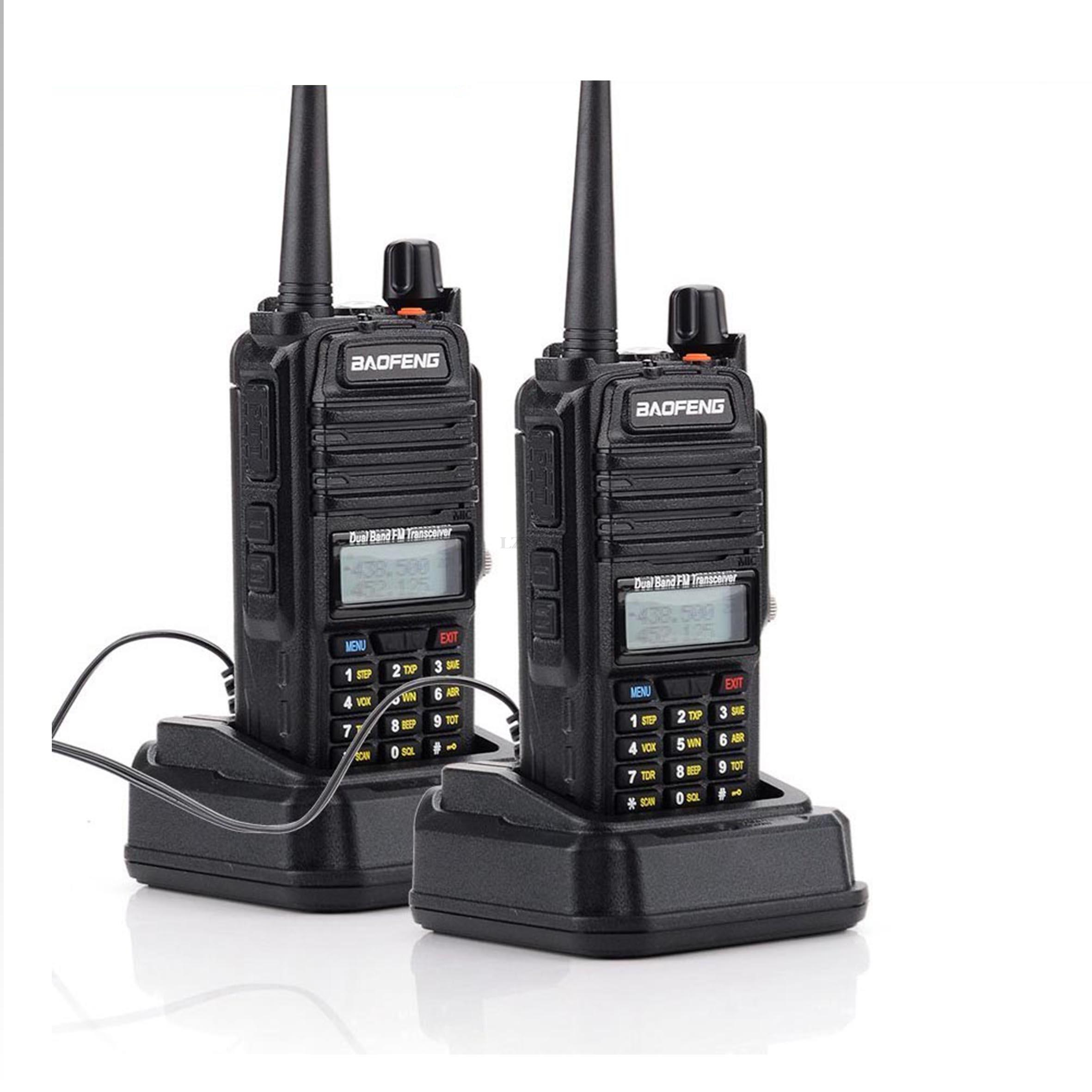 BaoFeng R760 BF R760 5W Dual Band Two Way CB Radio Portable Interphone Anti Dust profession Waterproof Walkie Talkie 2pcs/set-in Walkie Talkie from Cellphones & Telecommunications    1