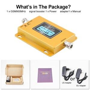 Image 5 - Gsm repetidor 2g 3g band8 gsm 900mhz amplificador 20dbm lcd mini repetidor de sinal do telefone móvel 900 celular repetidor gsm 980