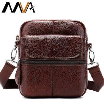 65673af37d See More MVA Messenger Bag Men s Shoulder Bags Man Genuine Leather Small  Male Crossbody Bags for Messenger Men Leather Bag Zip Flap 8628