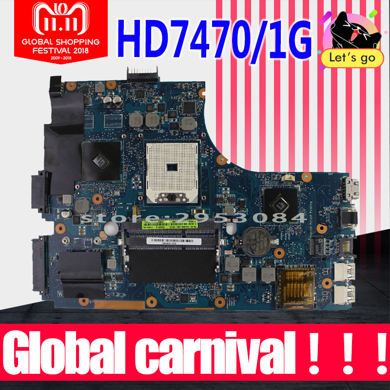 все цены на K55DR motherboard For Asus K55DE REV2.0 Mainboard HD7470 1G FS1 Socket 100% Tested онлайн