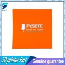 1 pc 220x220mm Buzlu Sıcak Yatak Sticker Için Wanhao i3 Anet A8 A6 TEVO Ender 5 Yüzey sticker Siyah Inşa Levha Inşa Plaka