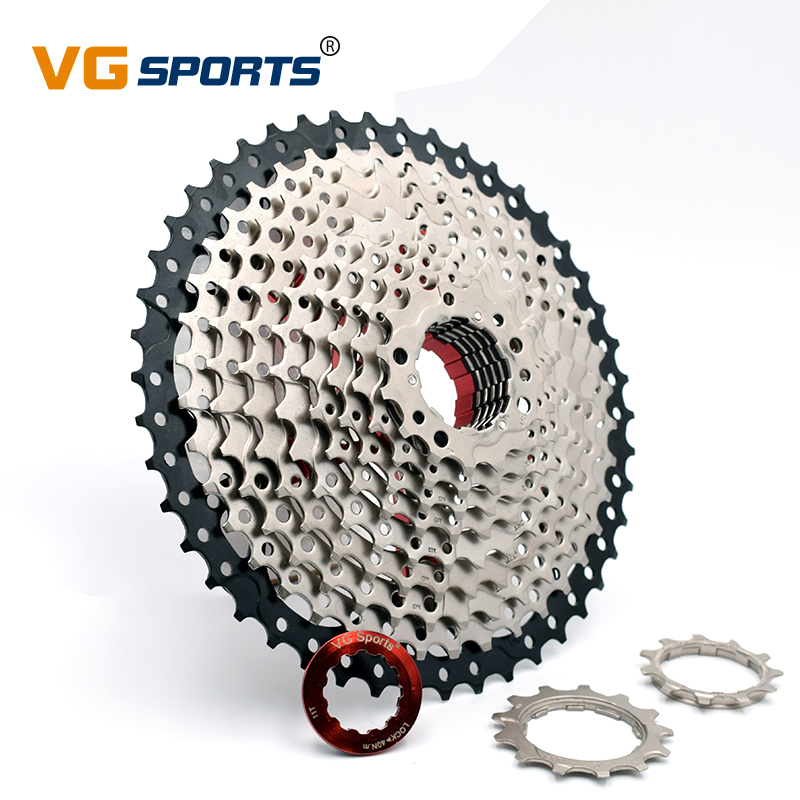 Vg Sports 9 Speed 11-46t Cassette Freewheel Mountain Bike Flywheel Bicycle Parts Sporting Goods
