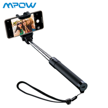Mpow Bluetooth Selfie Stick Extendable U-Shape Self-portrait Monopod with Built-in Remote Shutter