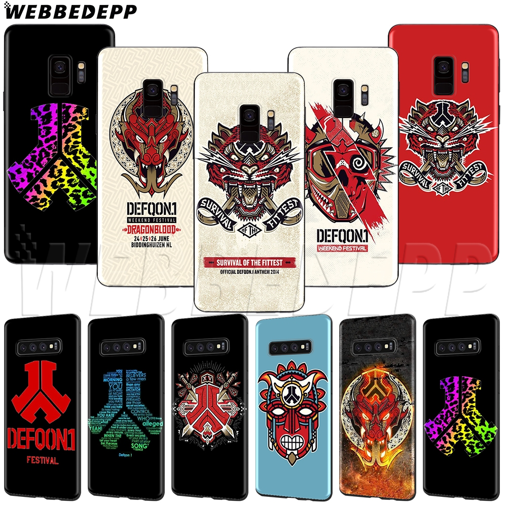 WEBBEDEPP Hardstyle defqon 1 TPU Soft Case for Samsung Galaxy Note 8 9 S6 S7 S8 S9 S10 S10e Edge Plus
