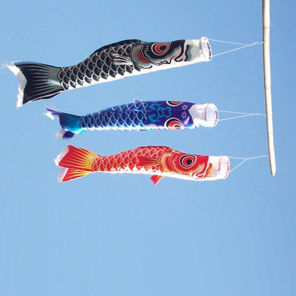 70cm  Japanese Carp Windsock Streamer Fish Flag Kite Koi Nobori Koinobori