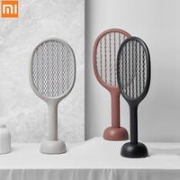 Xiaomi Mijia Solove P1 Electric UV Mosquito Swatter Insect Bug Fly Mosquito Dispeller 360nm Double Size Anti electric Shock Net