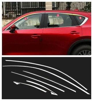 Аксессуары высокого качества из нержавеющей стали верхнее окно подоконник планки 6 шт./компл. для Mazda CX5 CX-5 2017 2018 2019 >> Shop4514059 Store