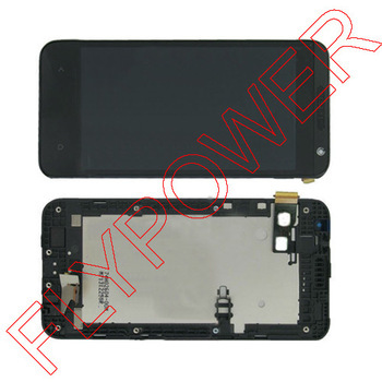 for HTC Desire 300 LCD display screen with touch screen digitizer with frame assembly full set by free shipping lcd screen display touch panel digitizer with frame for htc one m9 black or silver or gold free shipping