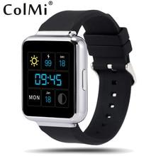 Colmi smart watch vs95 os android 5.1 h eart rate monitor wifi gps googleเล่นpushข้อความโทรpedometerสมาร์ทนาฬิกา