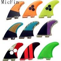 White With Black Honeycomb Fins Carbon Fiber Surfboard Fins Surf Fins Paddle Board Fin