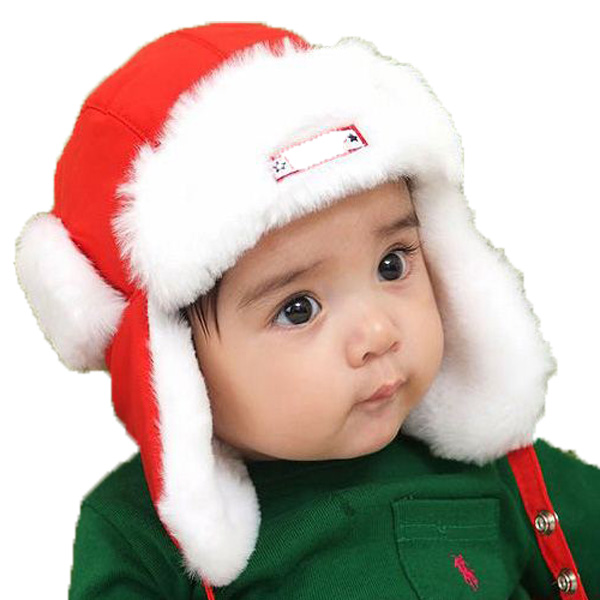 Retail Unisex Children Letter Embroidery Solid Color Bomber Hats Kid Kid Winter Warm Earmuffs Earflap Ear Protection Cap MZ1079