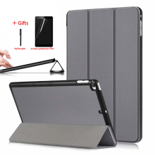 Case For ipad Mini 5 2019 ipad Mini 4 PU Leather Tablet Stand Folio Smart Magnetic Cover For New ipad Mini 5 Case + Stylus Pen new kid color pretty printing buckle leather stand folio covers case for universal 10 10 1inch tablet pc