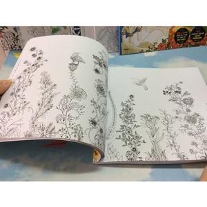 Image 3 - 82 Pagina S Droom Volwassenen Kleurboeken Graffiti Schilderij Tekening Geheime Tuin Kleurboek Voor Volwassenen Kinderen