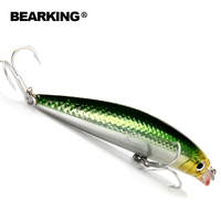Bearking Retail Hot Good Fishing Lures Minnow Bear King Quality Professional Baits 90mm 10g Swimbait Jointed