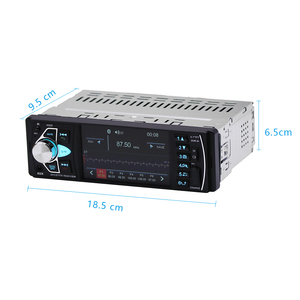 Image 3 - Hikity Autoradio stéréo FM, Bluetooth, compatible caméra de recul (4022d), Audio, avec commandes au volant, pour voiture, 1 din