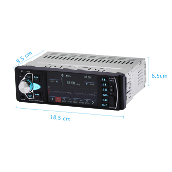 HIKITY 4022D Car Stereo & Bluetooth Audio Player w/ Camera Support