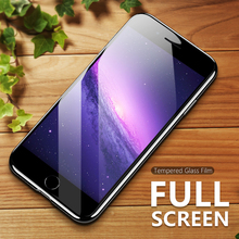 ASINA Full Cover 6D Screen Protector For iPhone 7 8 Plus X Tempered Glass 10H Hardness Curved Scratch Resistant