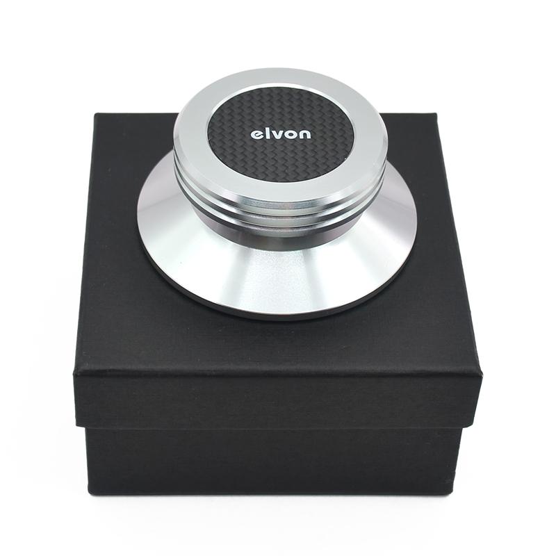 Carbon Fiber Aluminium Alloy Material LP Vinyl Turntables Metal Disc Stabilizer Record Weight