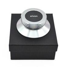 Z włókna węglowego materiał ze stopu Aluminium winylowa płyta długogrająca gramofony metalowy stabilizator tarczowy rekord waga