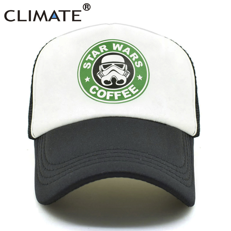 KLIMAAT Star War Funny Caps Mannen Vrouwen Cool Trucker Caps Star War - Kledingaccessoires