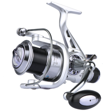 Goture Spinning Fishing Reel 11BB Double Drag Metal Spool Long Casting Carp Fishing Wheel 5.2:1