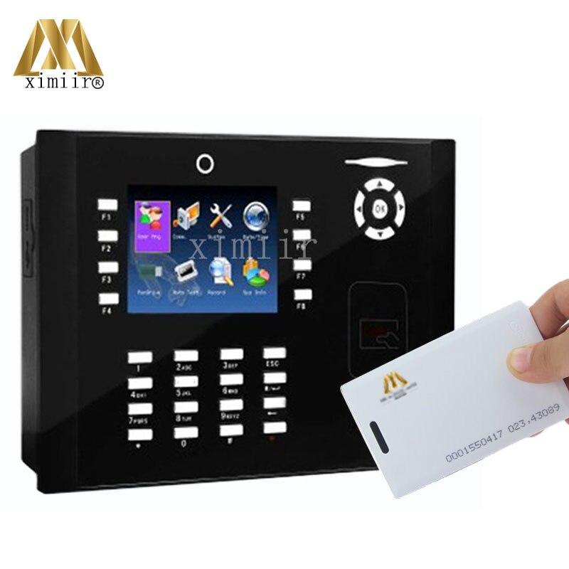 ZKteco M880 biométrique temps de présence avec caméra 50000 capacité de la carte tcp/ip 125 Khz RFID enregistreur de temps fonction d'imprimante en option