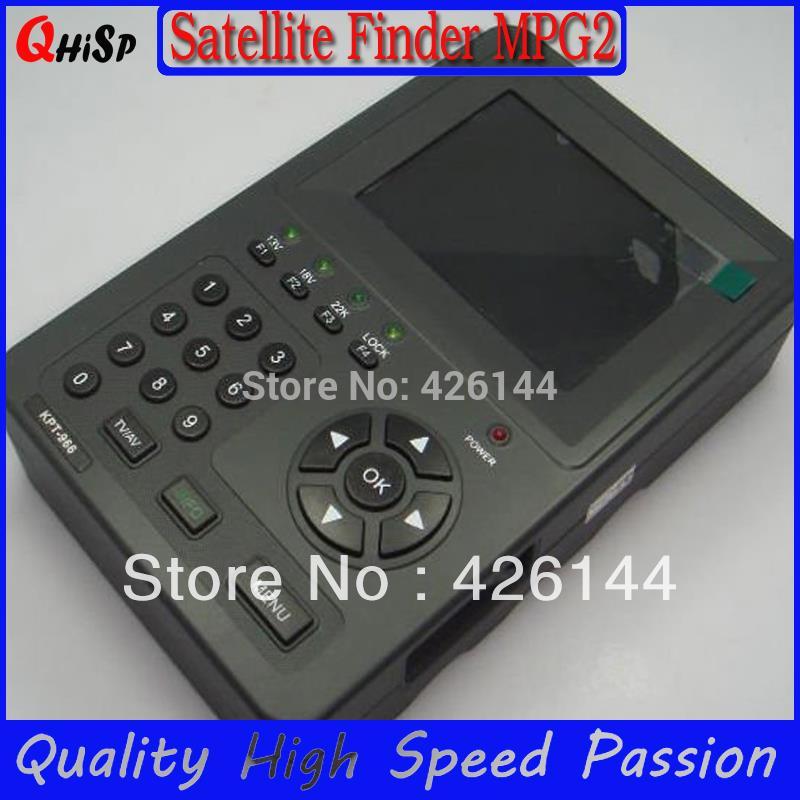Digital Tv Signal Finder work with Openbox V8s Satfinder KPT 968g 3.5inch Handheld