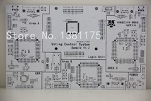 100% Positive Feedbacks Free Shipping Low Cost Double-Sided Quickturn PCB Boards Prototype Manufacturer Fast Sale 097