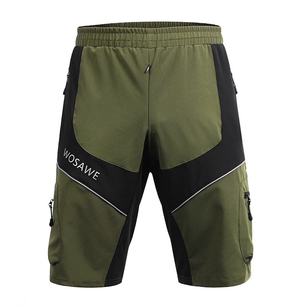 WOSAWE muške kratke hlače Downhill MTB gaćice s podstavljenim - Biciklizam - Foto 6