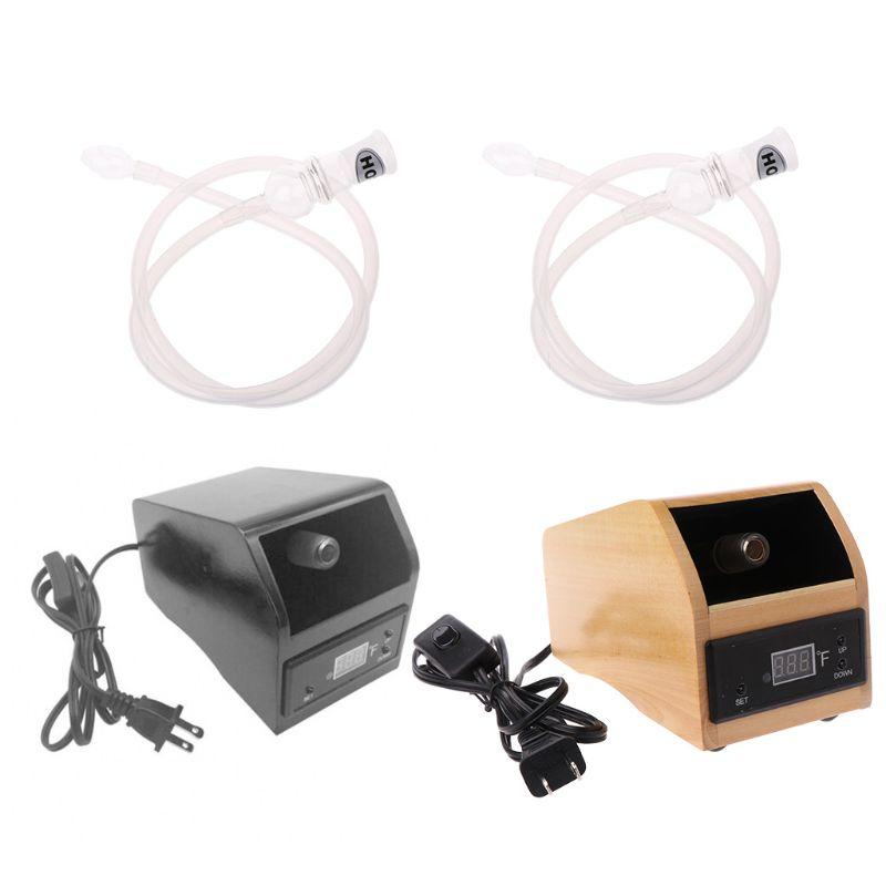Vaporisateur de diffuseur d'aromathérapie évaporateur Vape numérique US Plug VP100 avec Kit d'accessoires fouet gratuit