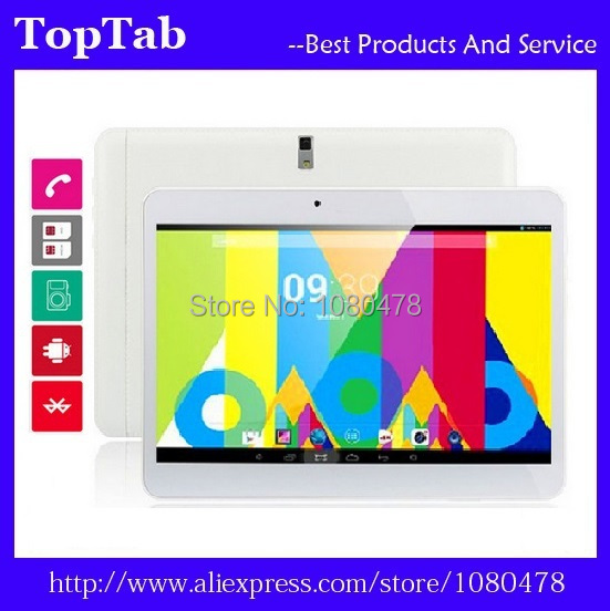 10 inch tablet pc quad Core MTK6582 3G GPS bluetooth 2G 16G Android 4.4.2 Dual Camera 2 SIM Card Slot
