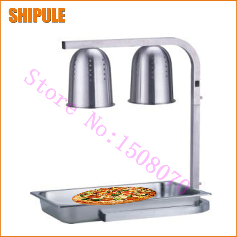 SHIPULE silver Food warming lamp Double insulation heat preservation electric food preservative breeding heat lamp tortoise insulation heat preservation light ceramic lamp light incubation cultivation light